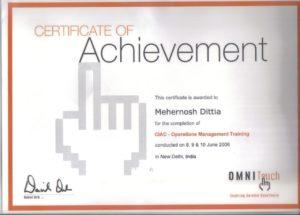 certificate 11